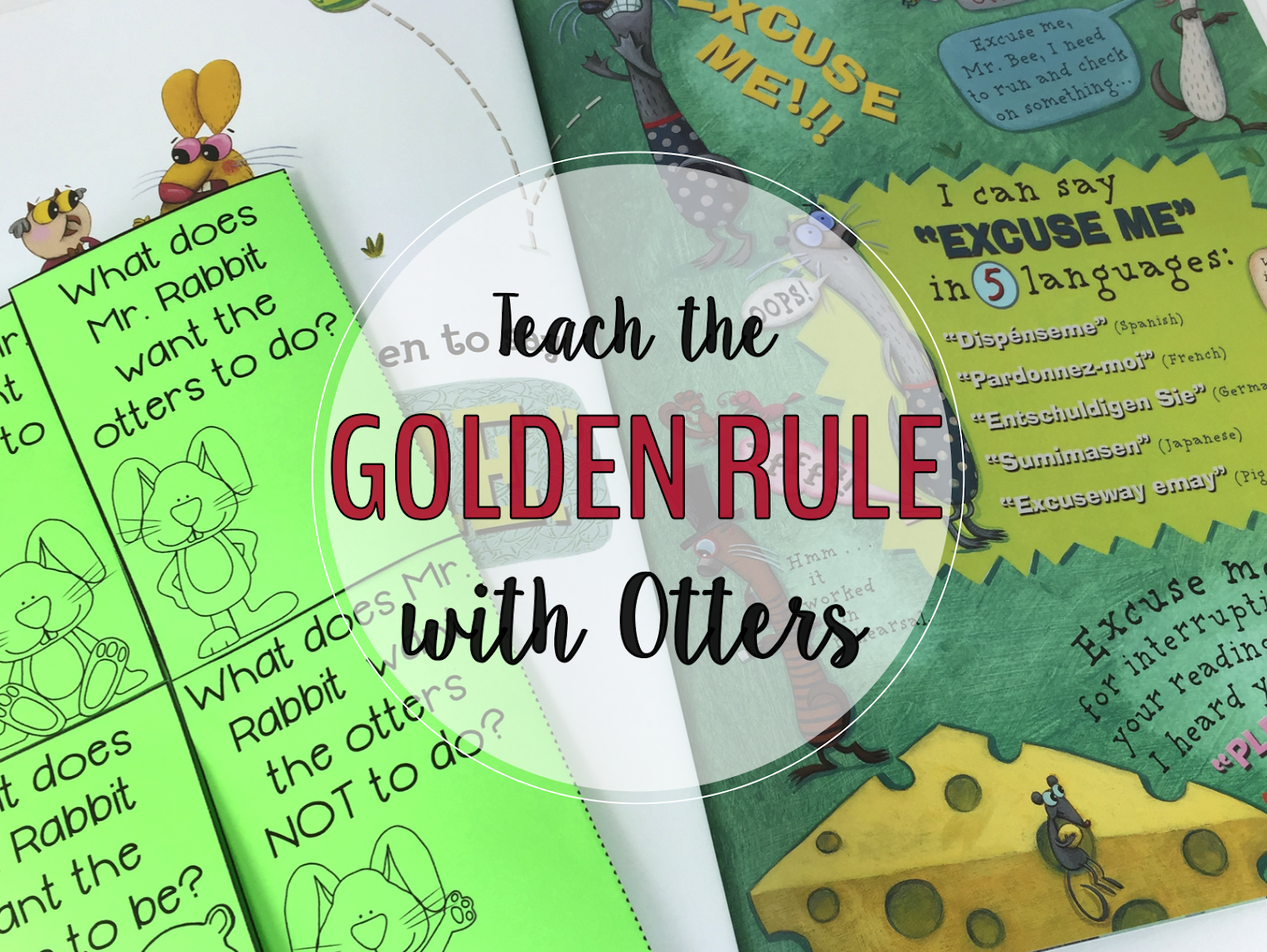 Teach The Golden Rule With Otters