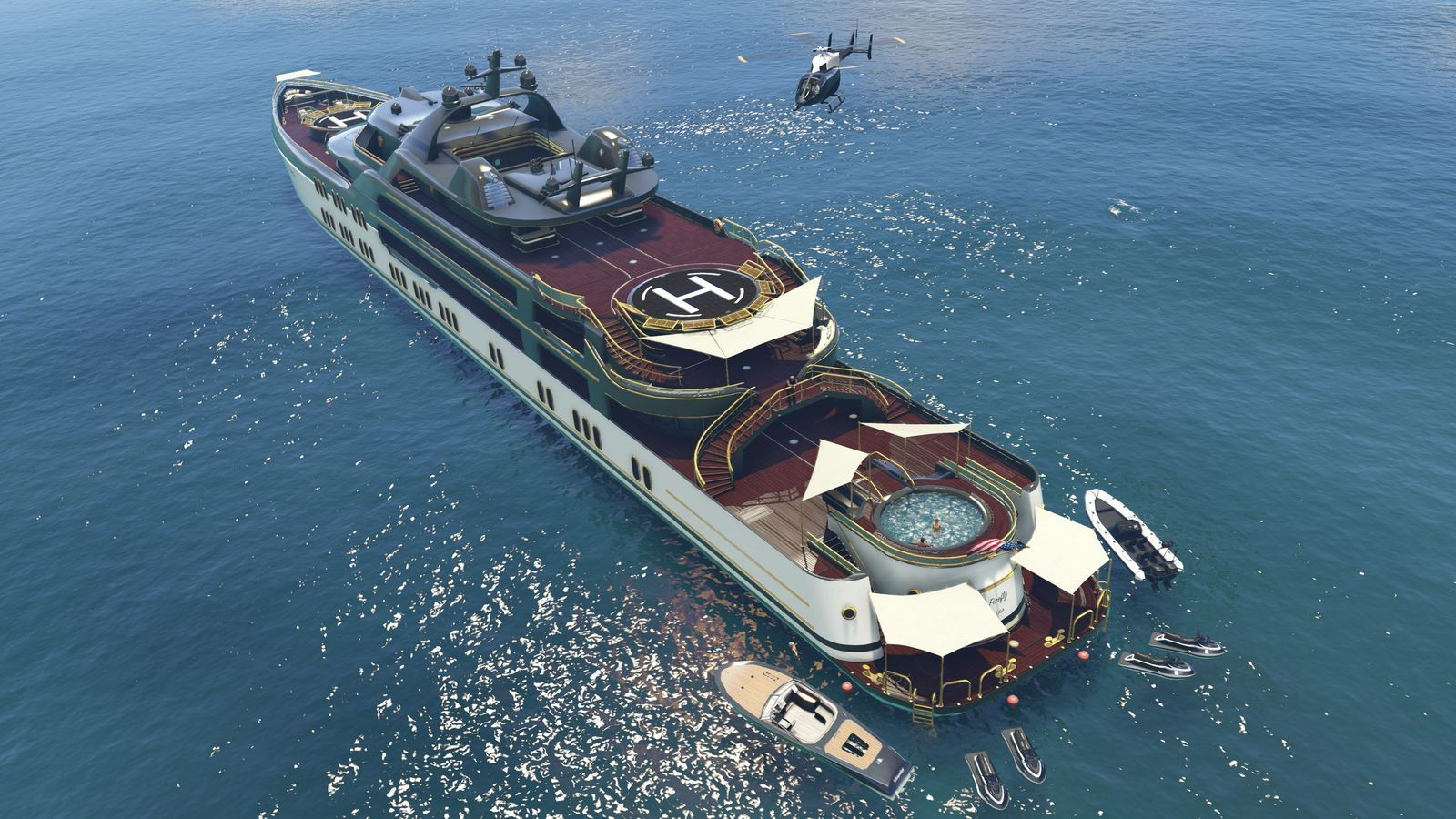Gta Online S New Expansion Includes Luxury Yachts And Limos With Guns Luxury Yachts Gta Super Yachts