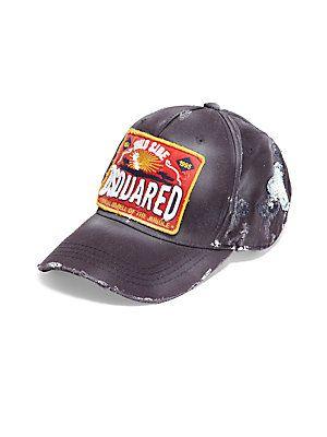 7e60436dda354 DSQUARED Wild Side Baseball Cap