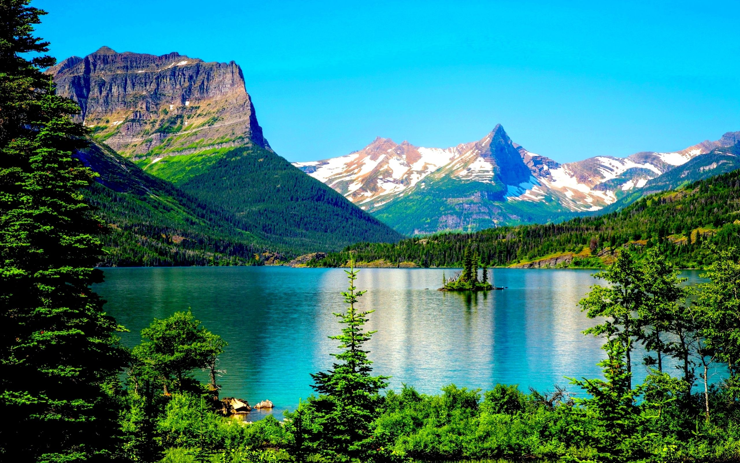 Glacier National Park Desktop Background 576217