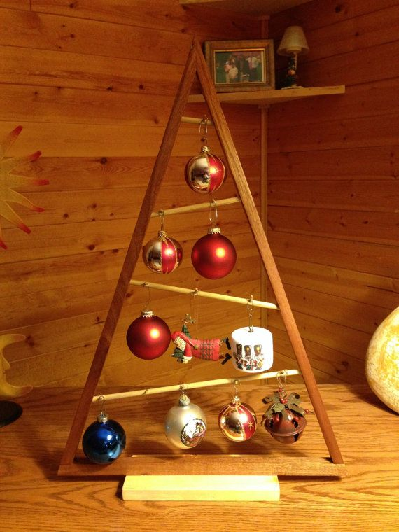 Wooden Christmas Tree Wooden christmas trees, Christmas tree and