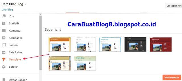 Template Buat Blog | Cara Mengganti Template Blog Di Blogspot Http Carabuatblog8