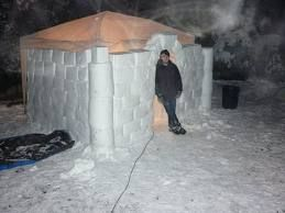 snow forts - Google Search