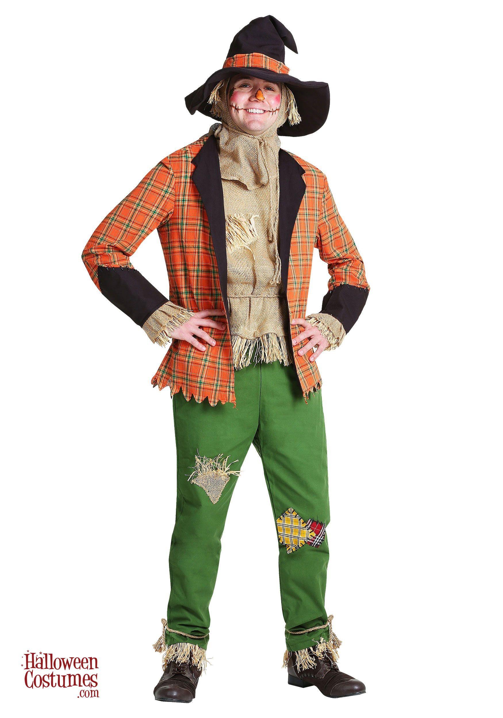 Scarecrow Costume for Men Scarecrow costume, Halloween