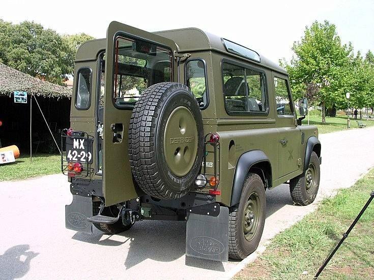 Traditional Olive Green Land Rover Defender Land Rover Land Rover Off Road
