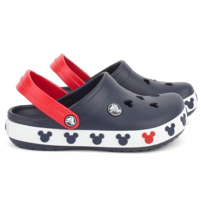 Crocs Kids Red and Blue Mickey Mouse