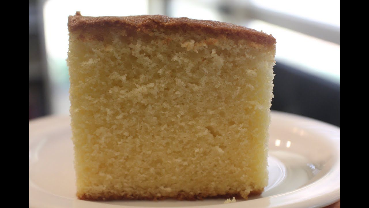 Sour Cream Butter Cake Simple Baking Youtube Easy Baking Butter Cake Butter Cake Recipe