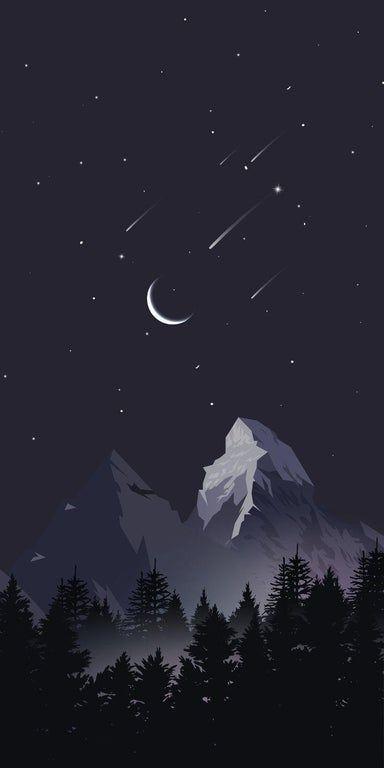 Stray sky minimalist wallpaper