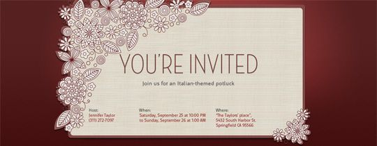 Invitations Free Ecards And Party