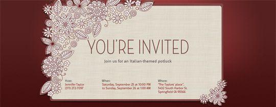 E Invitation Templates | ctsfashion.com