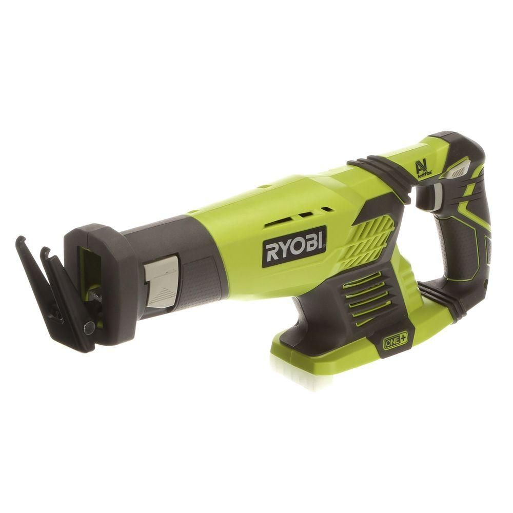ryobi one+ 18-volt cordless reciprocating saw (tool only)-p514 - the