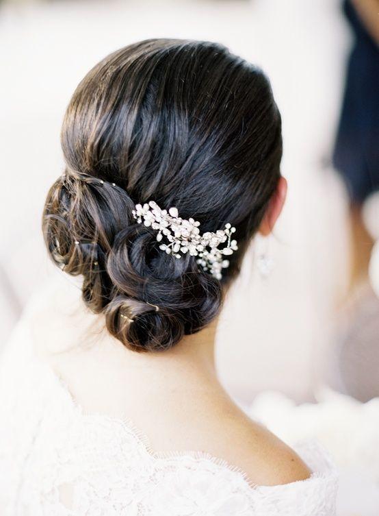 wedding hair style #bride