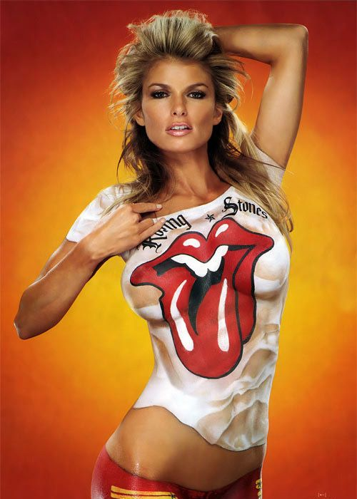 Marisa Miller Photo Si  Celebrity Body Paint -7561