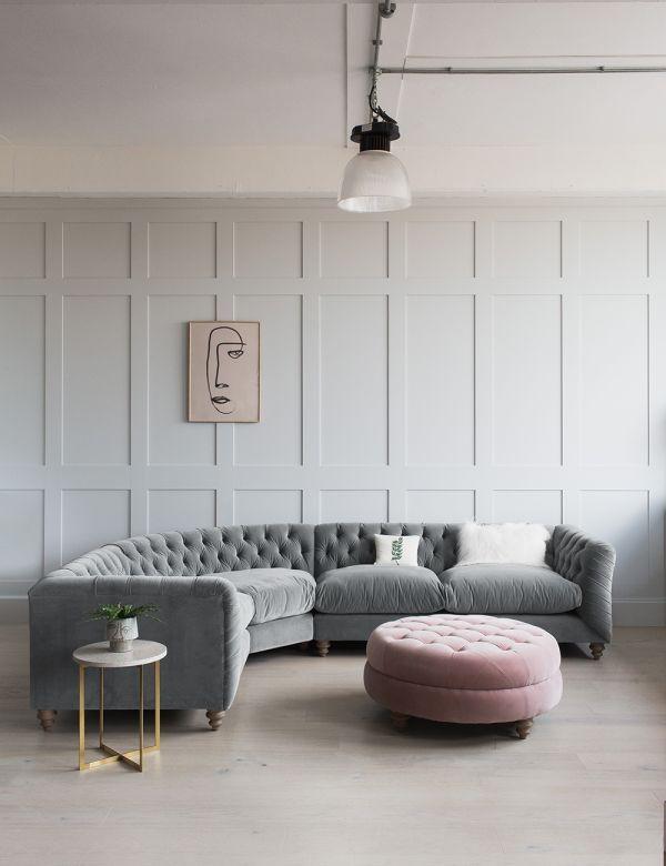 Hugo Chesterfield Corner Sofa