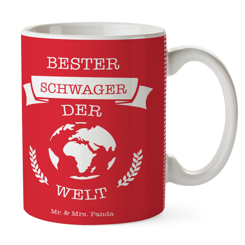 Tasse Welt Geschenk Bester Schwager Der Welt Aus Keramik