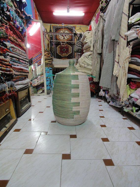 laundry basket by MogaArtisanatShop on Etsy