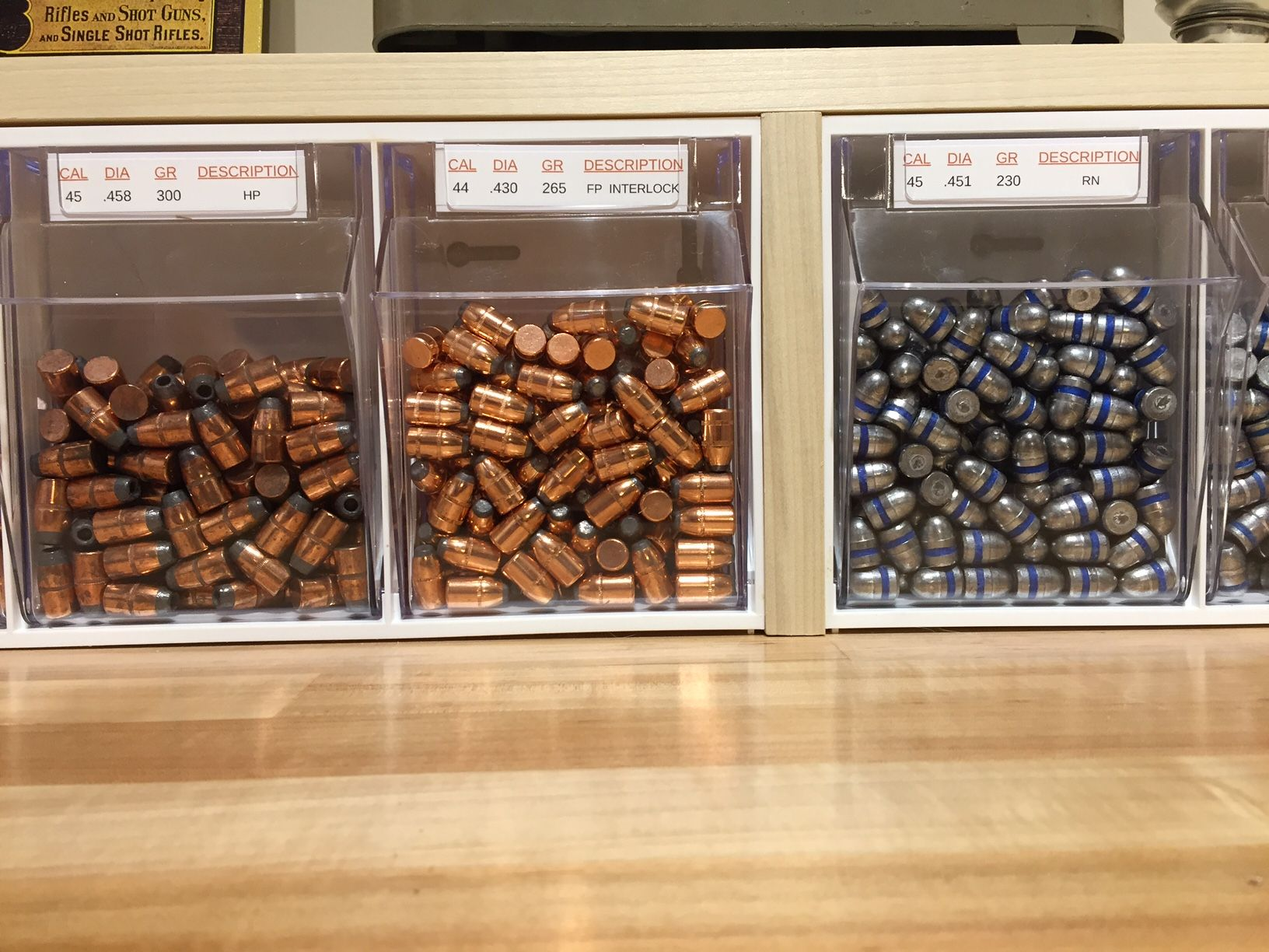 .44 Mag Load Data |Rifle Bullet Reloading Table