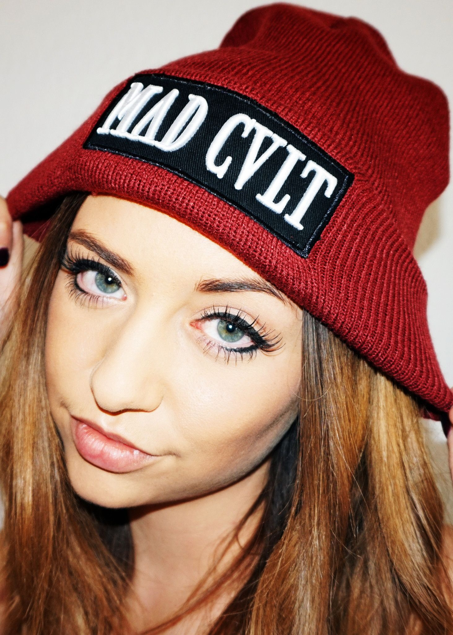 08d406ca32b Maroon Mad Cult Logo Beanie (SOLD OUT)