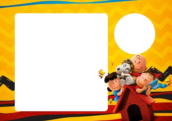 Kit imprimible de SNoopy - Candy Bar Snoopy - Imprimibles Snoopy ...