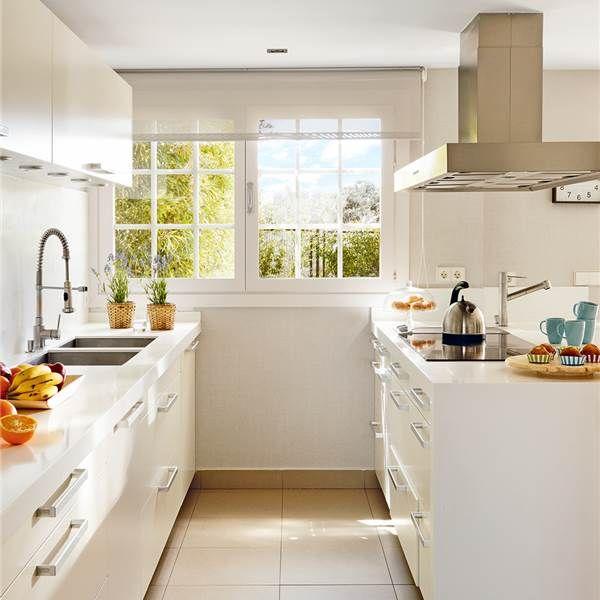 Posibles distribuciones para cocinas cocinas decoraci n - Cocinas en paralelo ...