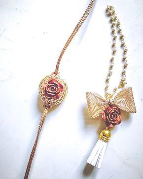 Top 25 Rakhi Jewelry Guide | Rakhi design, Handmade rakhi ...
