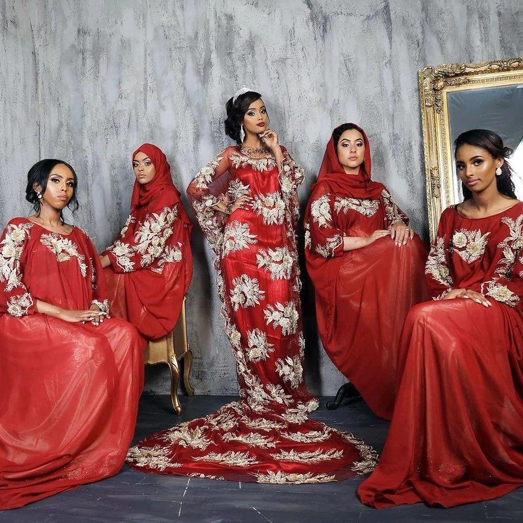 Traditional Somali Women Somali Wedding Somali Clothes Somali Clothing