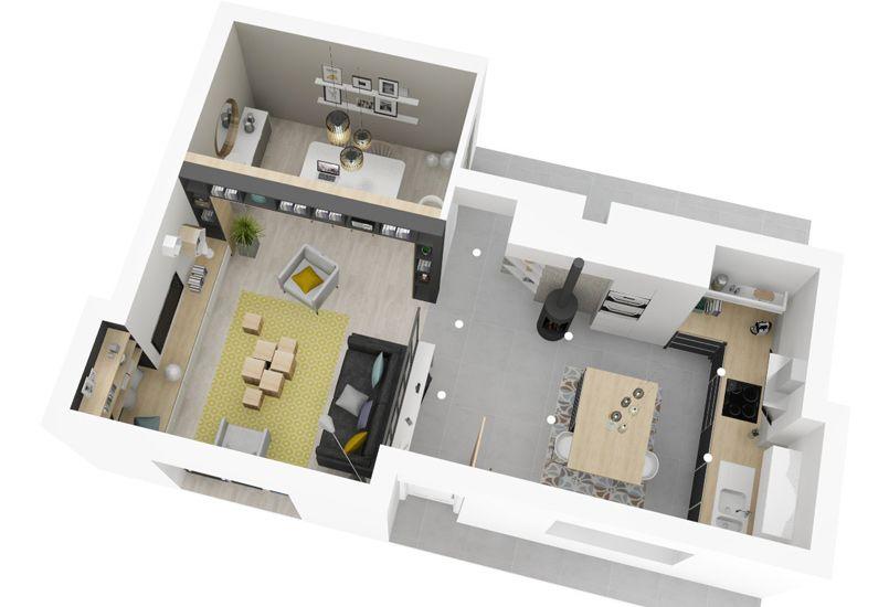 un souffle de nouveaut r novation am nagement lyon miribel cuisine entr e pi ce. Black Bedroom Furniture Sets. Home Design Ideas