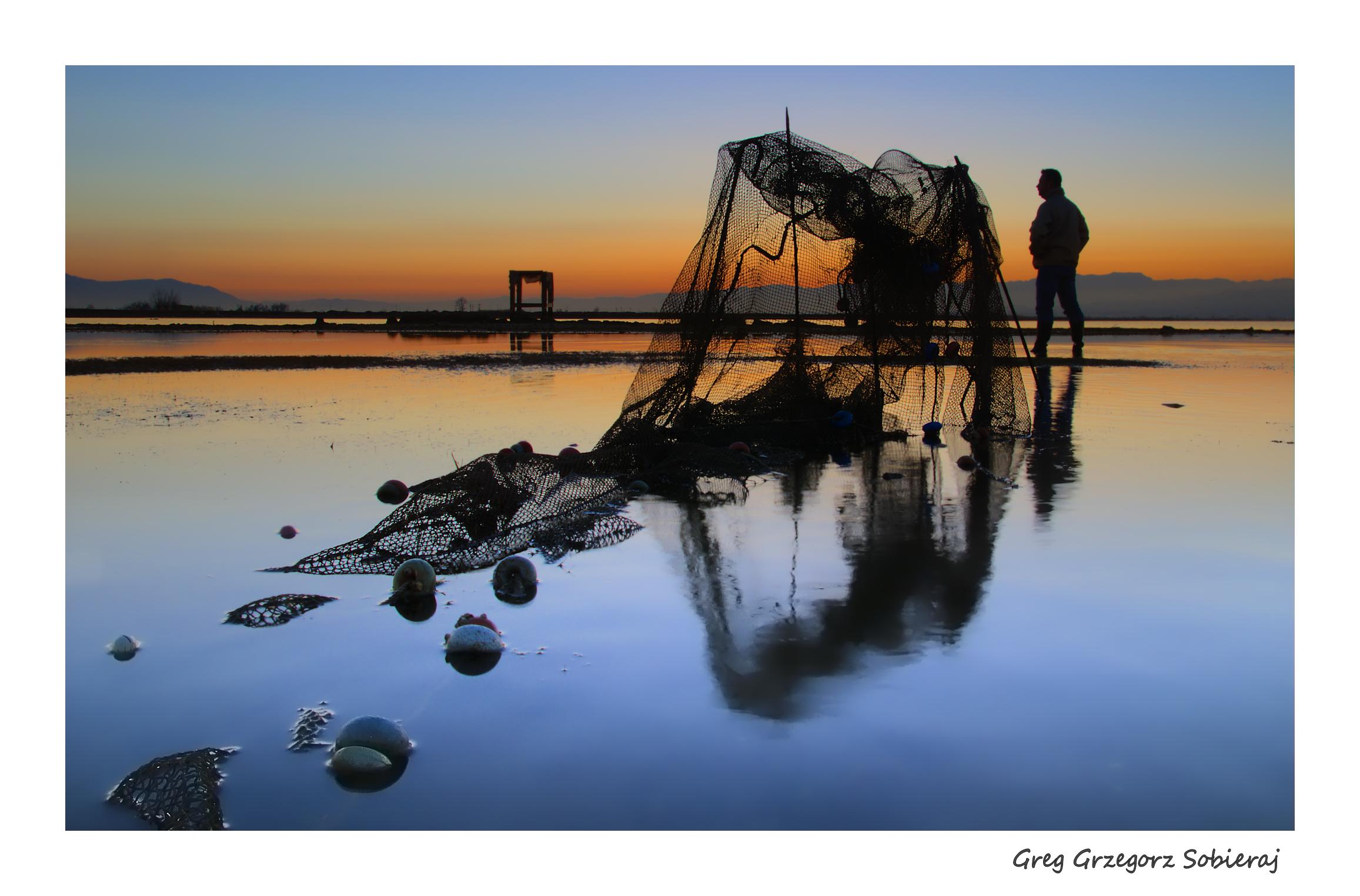 Bahía del Fangar / Delta del Ebro / Cataluña ... fot: Greg Grzegorz Sobieraj.