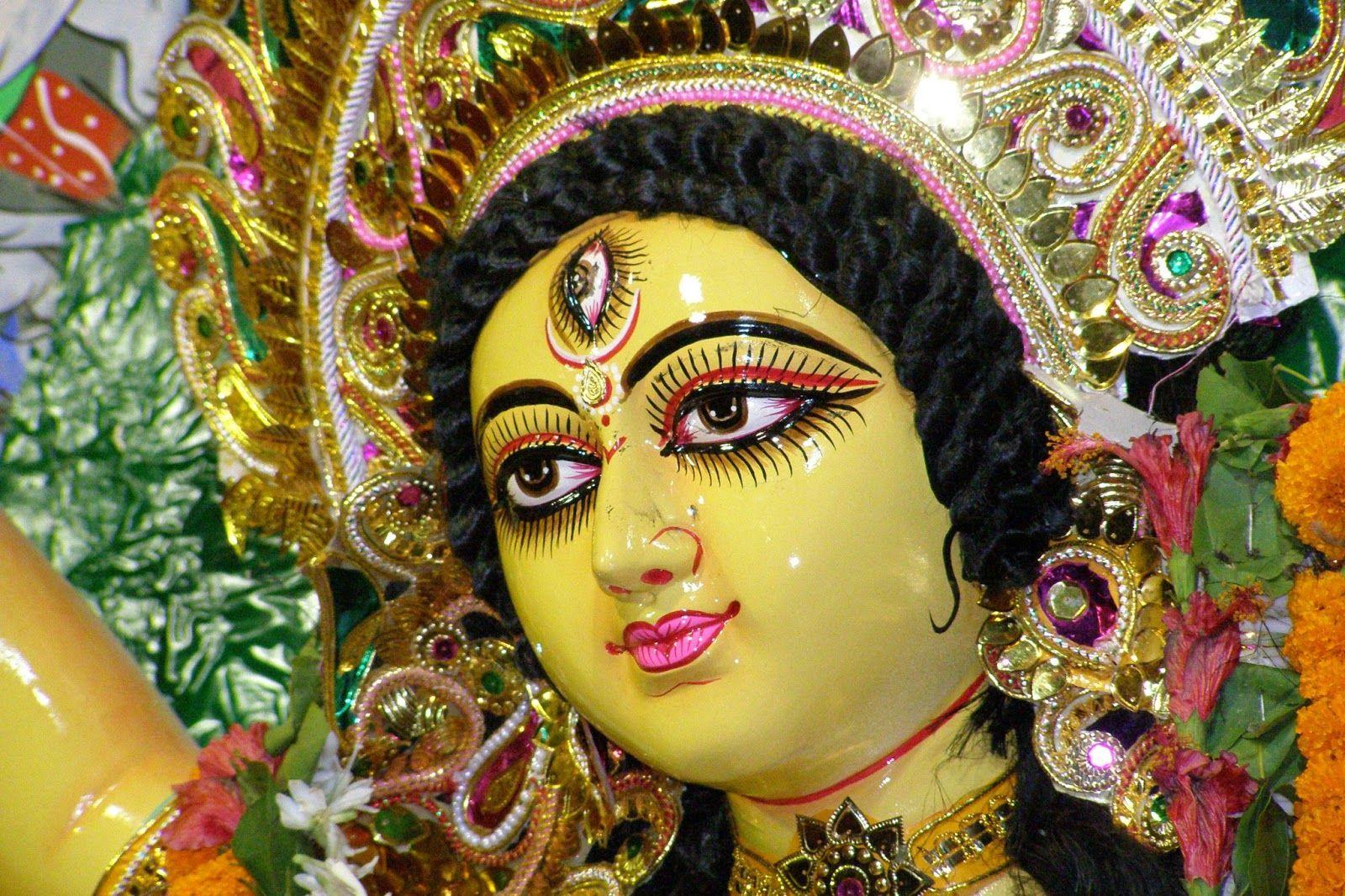 HD Durga Maa Wallpapers - WallpaperSafari   Durga maa ...