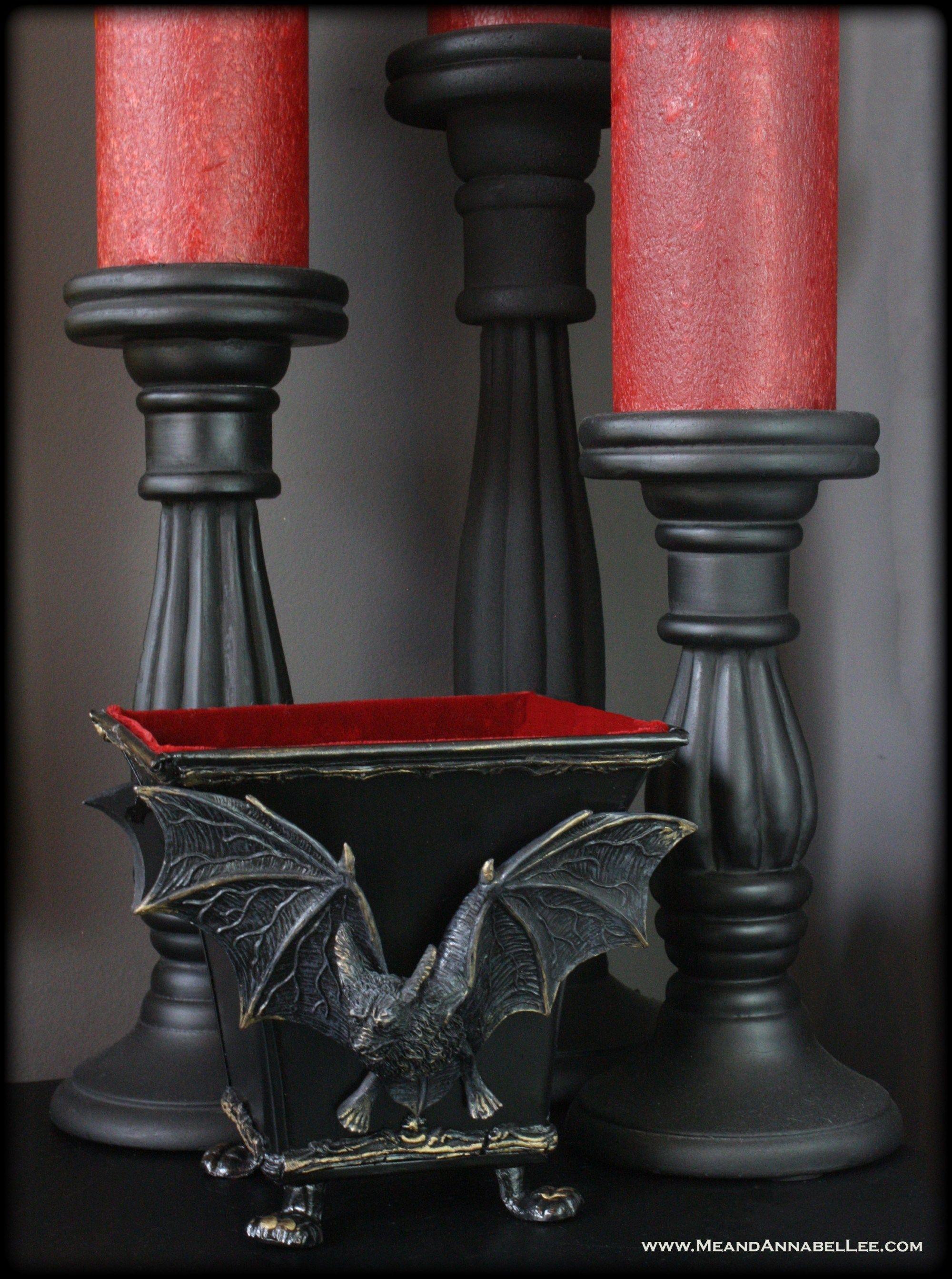 Photo of DIY Vampir Fledermaus Schmuckschachtel | Gothic Wohnkultur | Ich und Annabel Lee