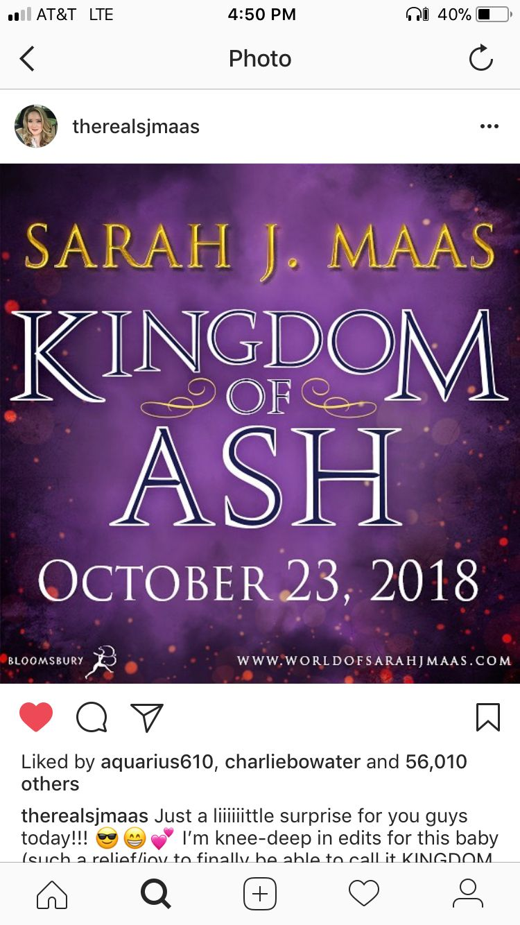 Title For Last Book Kingdom Of Ash Throne Of Glass Quotes