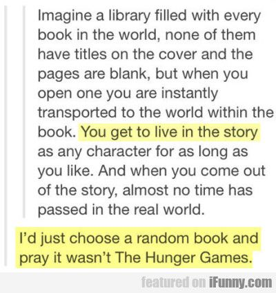 Imagine A Library Filled With Every Book In The...