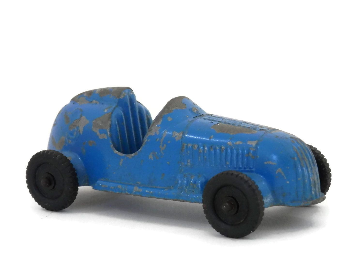 Antique Race Car 3 By Tootsie Toy Blue Die Cast Metal With Etsy Toy Car Toy Race Cars Toys