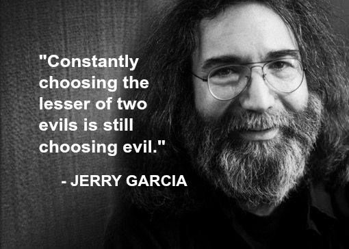 """""""Constantly Choosing The Lesser Of Two Evils Is Still"""