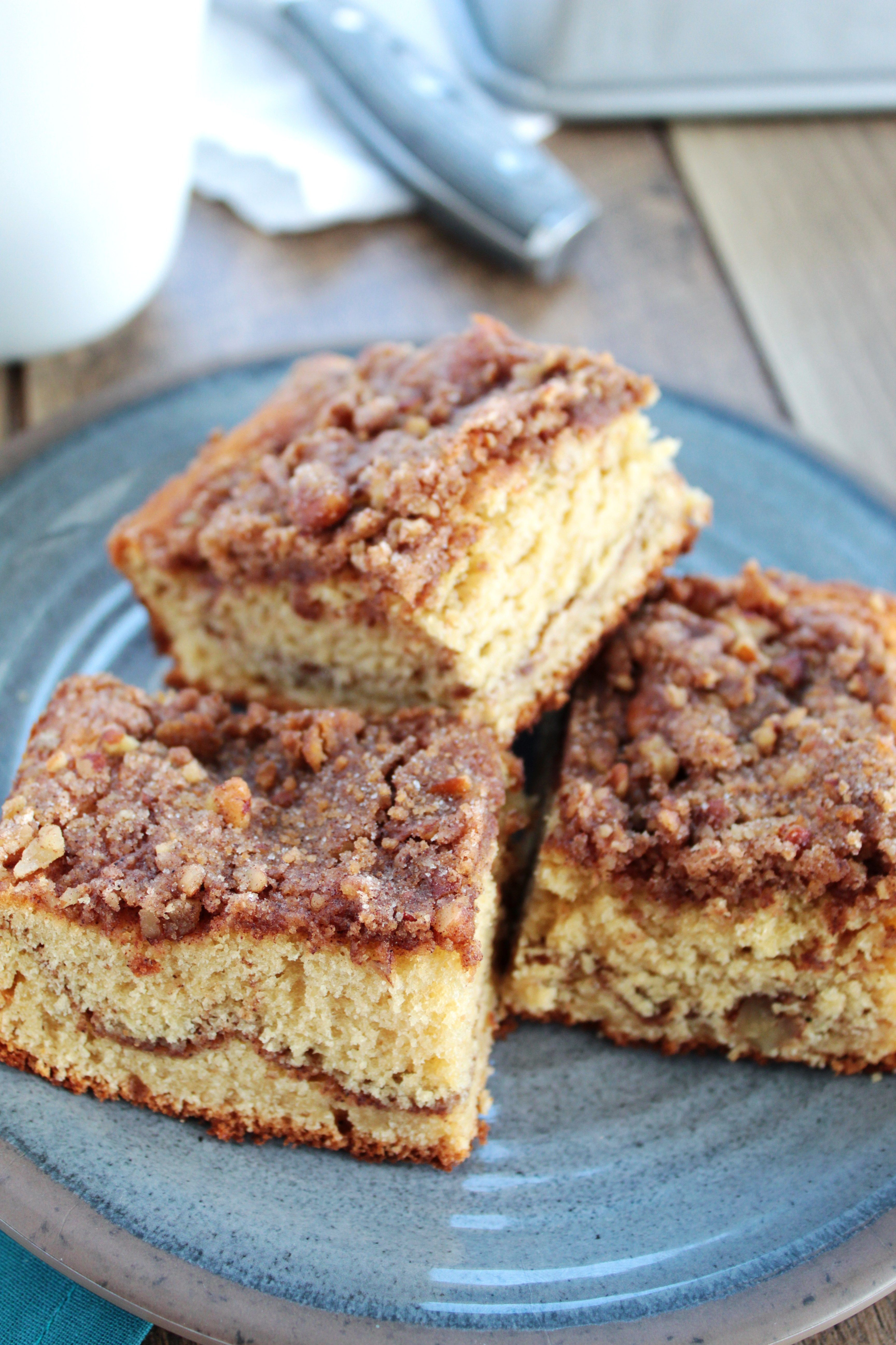 Applesauce Coffee Cake Butter And Bliss Recipe In 2020 Coffee Cake Coffee Cake Recipes Easy Baking Recipes