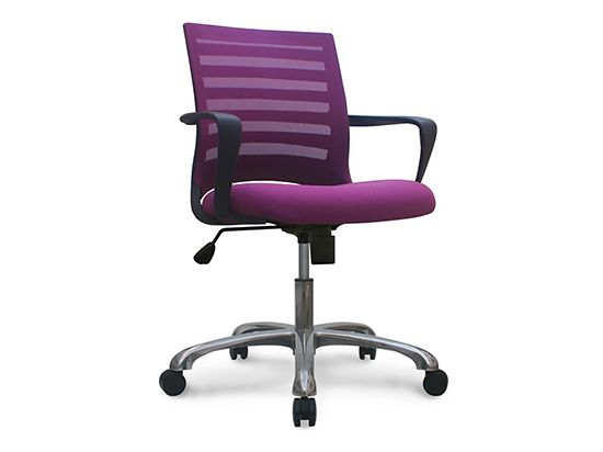 Barrier Desk Chair Purple