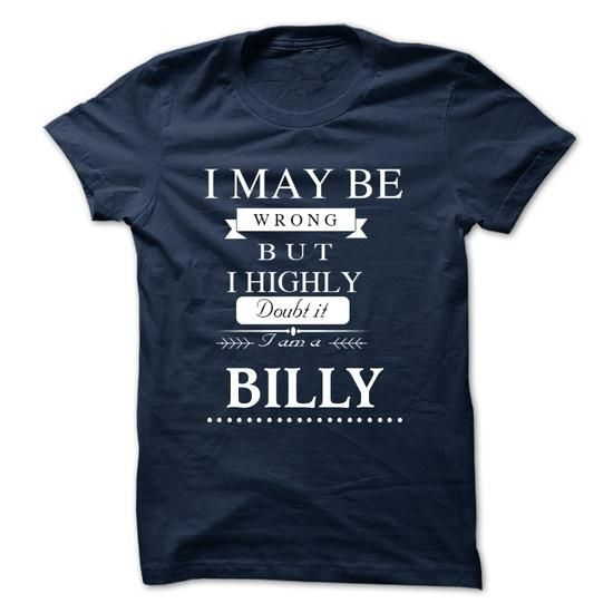 I LOVE BILLY TSHIRT - #awesome tee #couple sweatshirt. HURRY => https://www.sunfrog.com/Valentines/I-LOVE-BILLY-TSHIRT-30546198-Guys.html?68278