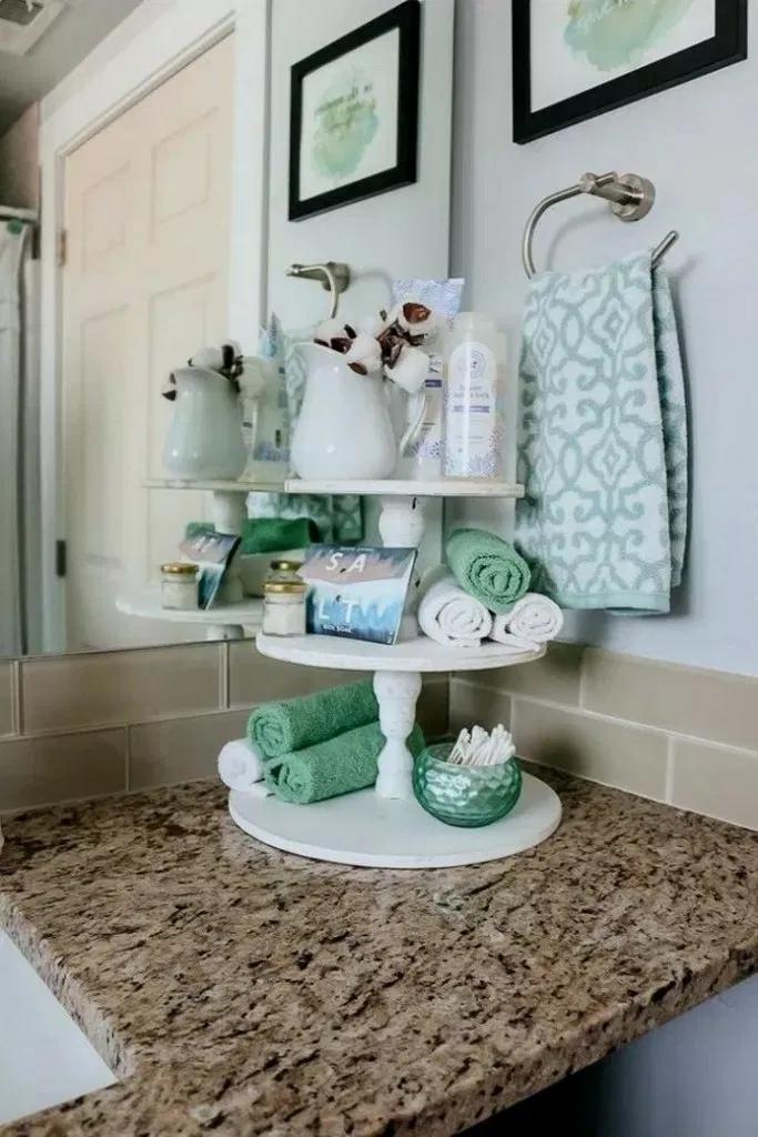 19+ Bathroom vanity tray ideas best