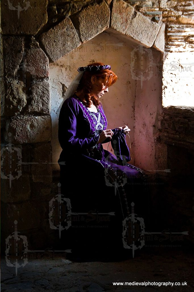 Medieval Maidens #medieval #photography #castle #redhead