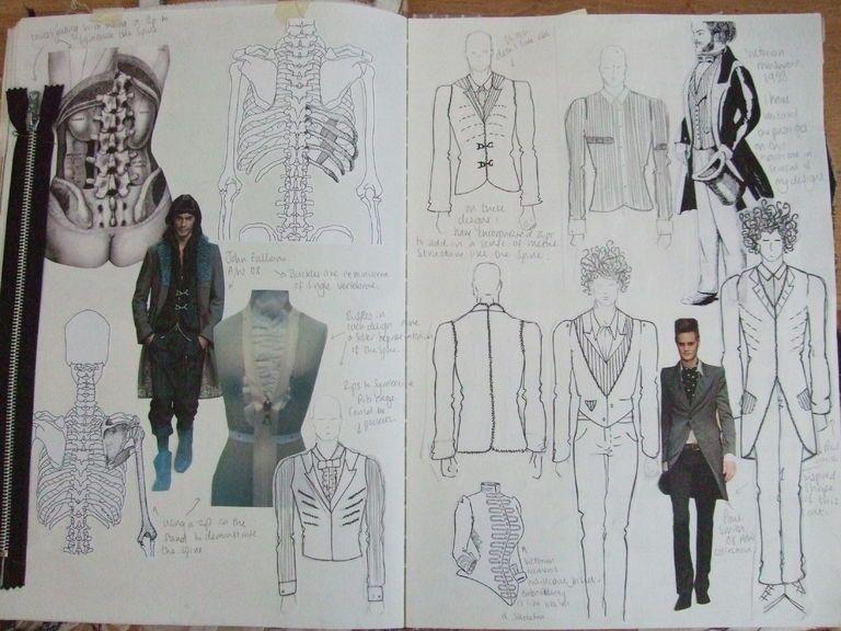 London College Of Fashion Portfolio
