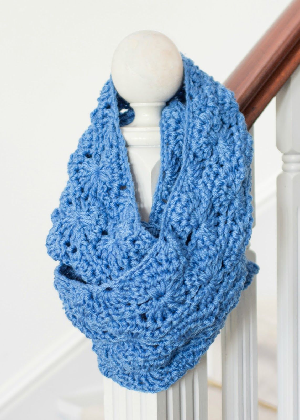 Chunky Infinity Scarf - Free Crochet Pattern | Chunky infinity ...
