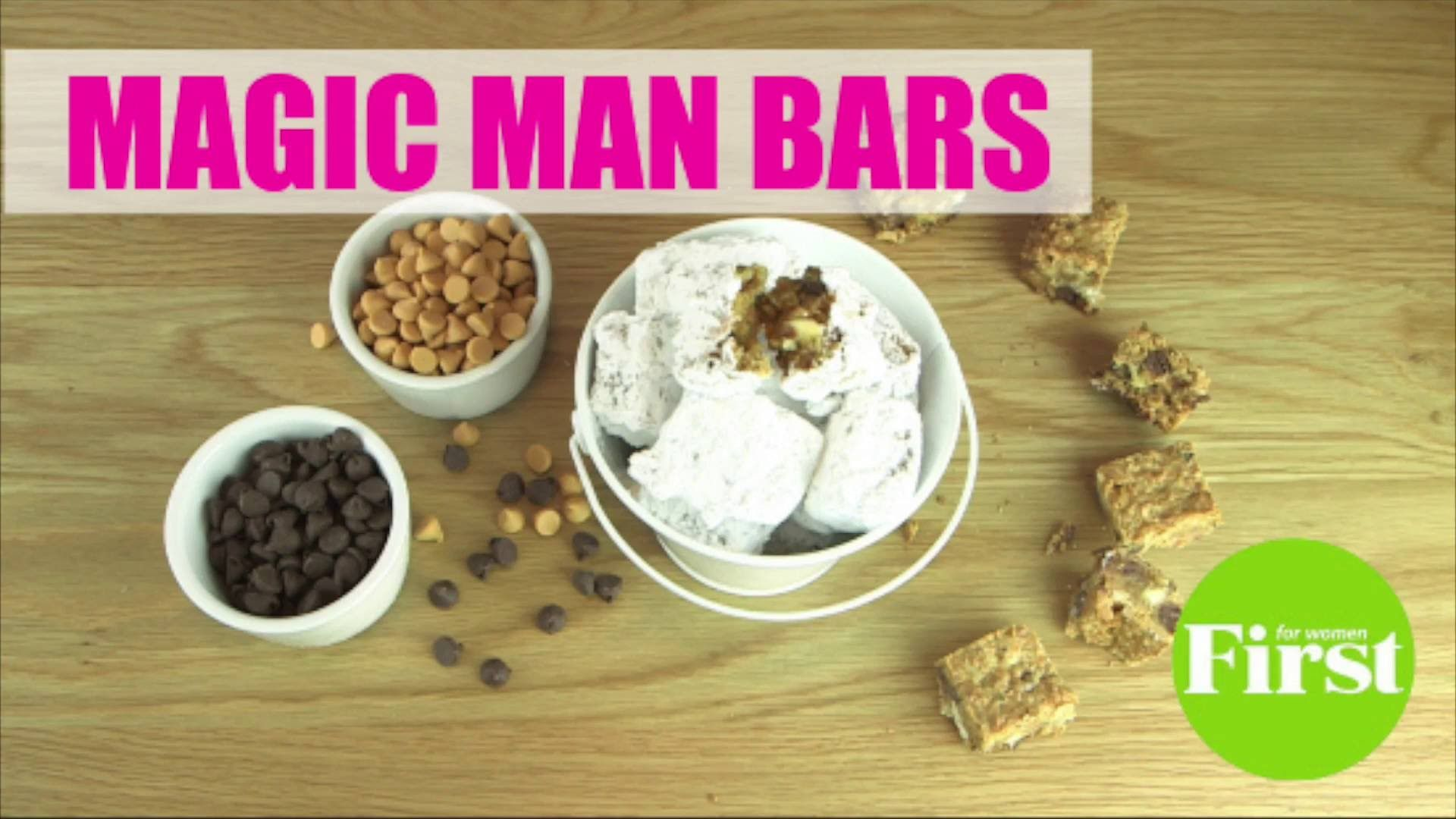 Magic Man Bars Recipe Tutorial Video. Delicious 7 layer bar and magic bar dessert rolled into one!