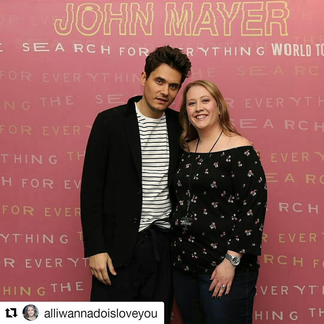Meet greet john mayer the search for everything world tour meet greet kristyandbryce Gallery