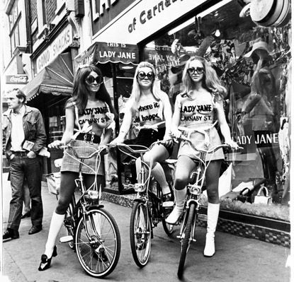 Lady Jane Shop Girls ~ Carnaby Street, mid-60s