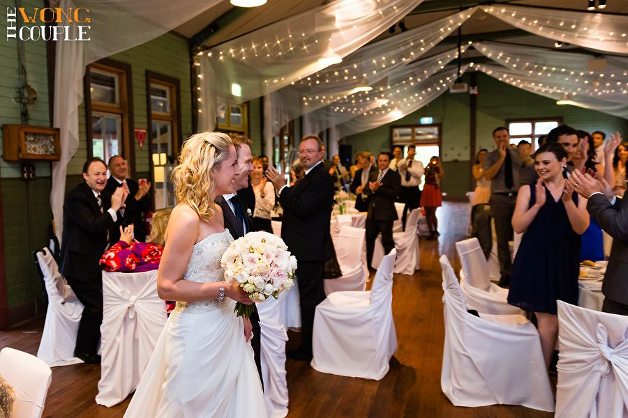 Bride Arrives At Manly Beach Wedding Reception Sydney Image The