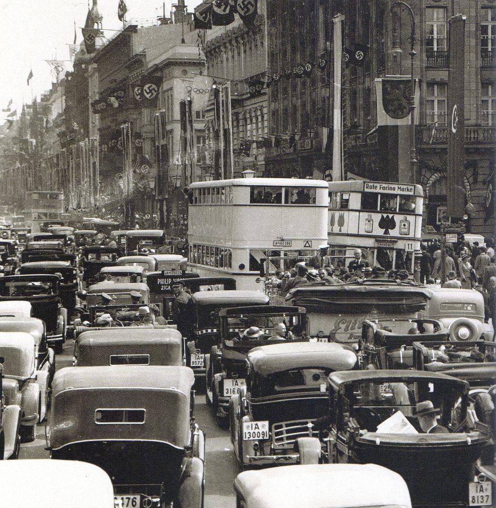 Pariser Platz In Berlin Im August 1936 Mon Amour
