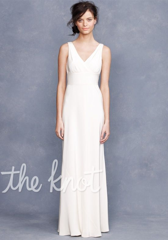 Sophia Gown Tricotine by J. Crew Weddings & Parties, | WEDDING gowns ...