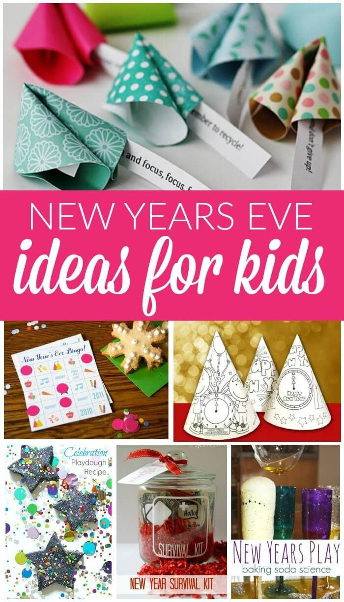 New Years Eve Party Ideas for Kids