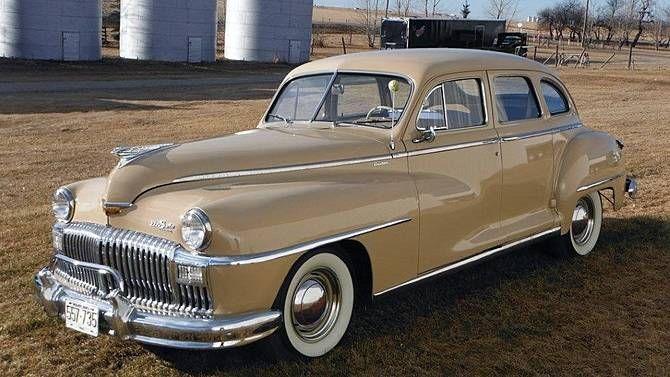 1948 desoto custom 4 door sedan desoto 1930 1950 for 1948 dodge deluxe 4 door