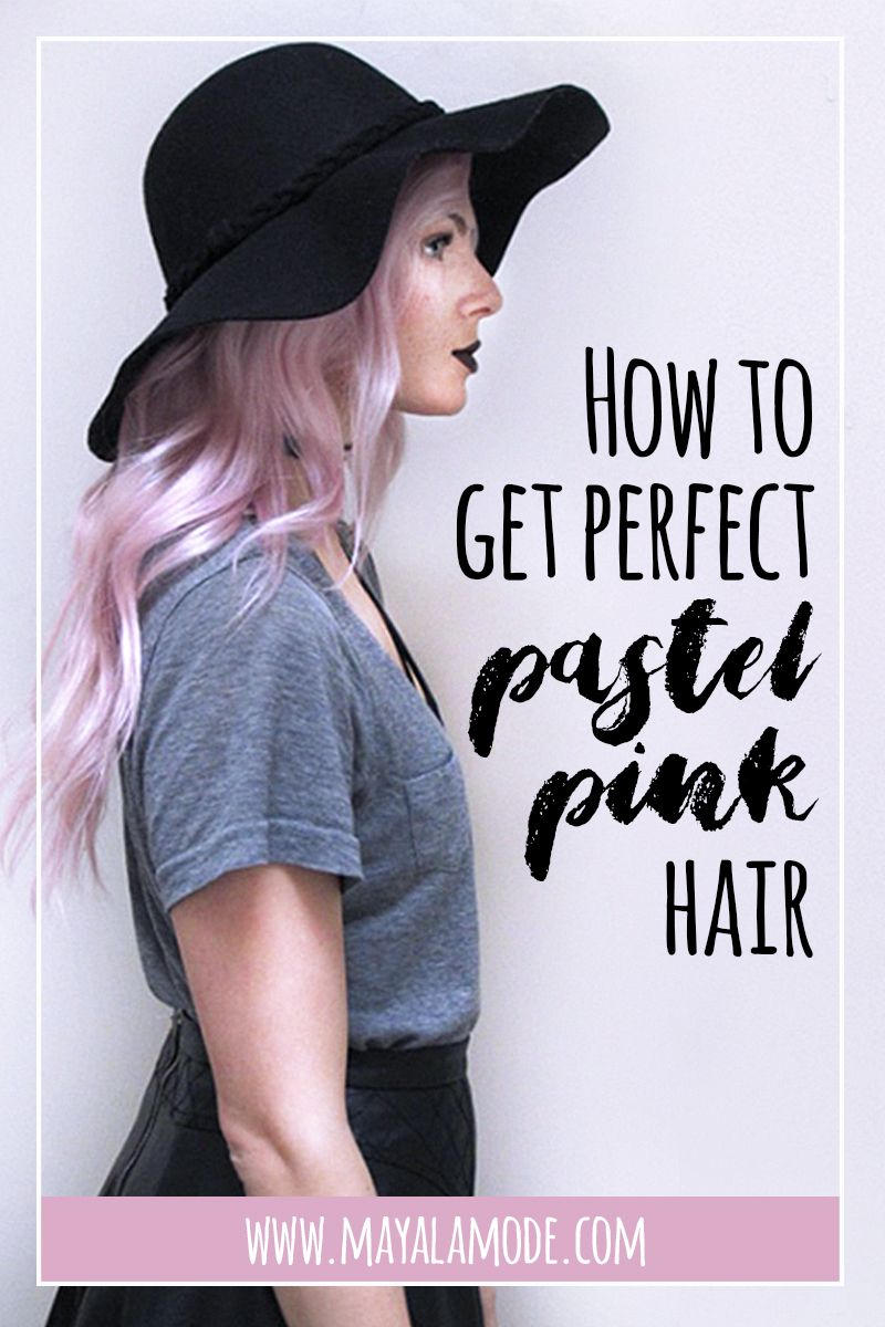 how to get pastel hair color